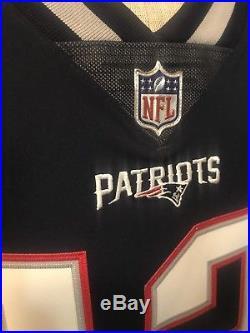 100% AUTHENTIC! Tom Brady New England Patriots Nike Elite PRO Jersey 40 M $325