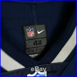 100% Authentic Tom Brady Patriots Nike Elite Player On Field Jersey Size 48 XL