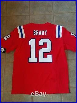 100% NWT NFL Authentic Elite New England Patriots Tom Brady Jersey size 48