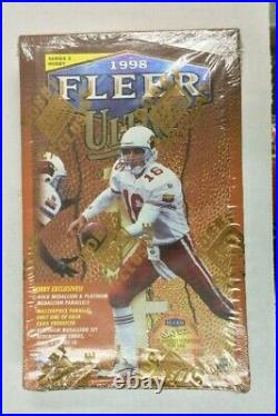 1998 Fleer Ultra Series 2 Football Sealed Hobby Box