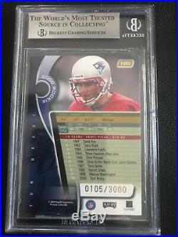 2000 Absolute #195 Tom Brady /3000 RC BGS 9 Mint - Free shipping