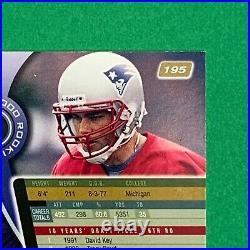 2000 Absolute TOM BRADY RC Rookie #195 Patriots Numbered 2652/3000