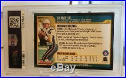 2000 BOWMAN Tom Brady ROOKIE RC #236 PSA 8