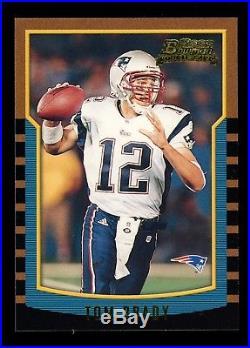 2000 Bowman #236 Tom Brady New England Patriots RC Rookie