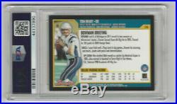 2000 Bowman #236 Tom Brady New England Patriots RC Rookie PSA 8 NM-MT