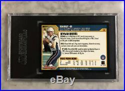 2000 Bowman #236 Tom Brady New England Patriots RC Rookie SGC 9 MINT