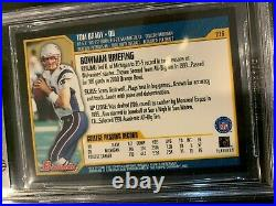 2000 Bowman #236 Tom Brady New England Patriots Rookie Card Beckett Nm/mt+ 8.5