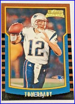 2000 Bowman #236 Tom Brady Rookie