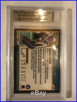 2000 Bowman Chrome 236 Tom Brady BGS 9 Mint RC Rookie Card PSA 10