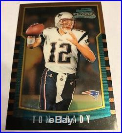 2000 Bowman Chrome #236 Tom Brady New England Patriots RC Rookie