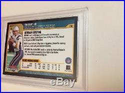 2000 Bowman Chrome #236 Tom Brady New England Patriots RC Rookie PSA 10 Gem Mint