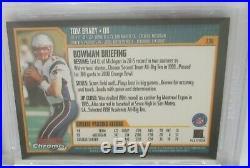 2000 Bowman Chrome #236 Tom Brady Patriots RC Rookie BGS 10 PRISTINE