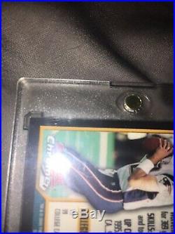 2000 Bowman Chrome Tom Brady New England Patriots #236 Football Card