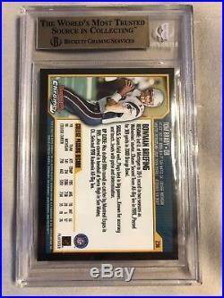 2000 Bowman Chrome Tom Brady New England Patriots #236 Football Card 9.5 Beckett