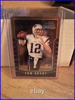 2000 Bowman Chrome Tom Brady Rookie