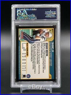 2000 Bowman Chrome Tom Brady Rookie #236 PSA 9 Mint Football Card CENTERED