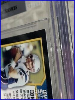 2000 Bowman Tom Brady RC Patriots #236 Football Card BGS 8.5 (Two 9.5s!)