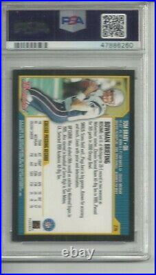 2000 Bowman Tom Brady Rc #236 Psa 8