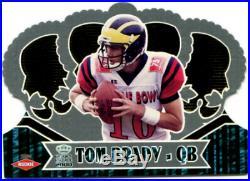 2000 Crown Royale #110 Tom Brady Rookie NM Great Condition Nice! Patriots