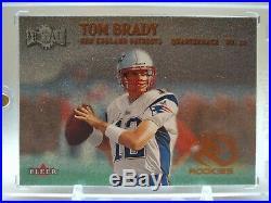 2000 Fleer Metal #267 Tom Brady RC