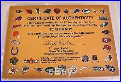 2000 Fleer Tom Brady Rookie Autographics Autograph (psa 10) (pop 6) Gem Mint
