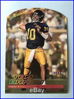 2000 Fleer Ultra Gold Medallion 234G Tom Brady Rookie Card Patriots NFL MVP 6XSB