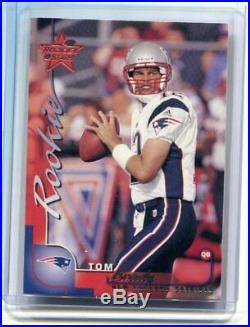 2000 Leaf Rookies & Stars Tom Brady RC 289/1000 Patriots NM-MT+