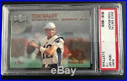2000 Metal #267 Tom Brady Psa 10 Gem Mint