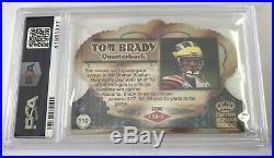 2000 NFL Pacific Crown Royale AUTO #110 Tom Brady Rookie Card PSA 9 MINT /100