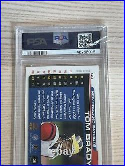 2000 Pacific Paramount Tom Brady ROOKIE RC #138 BGS PSA 9 MINT Super Bowl