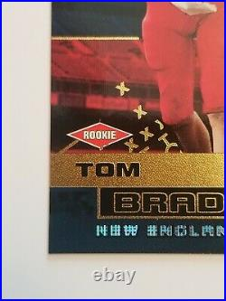 2000 Pacific Revolution #128 Tom Brady Rarest Rc Serial #060/300 Psa Bgs Ready