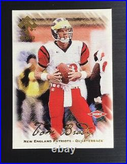 2000 Private Stock #128 TOM BRADY Rookie Football Card SSP /278 MINT