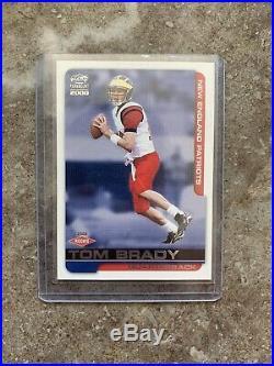 2000 ROOKIE Pacific Paramount Tom Brady New England Patriots #138 Football Card