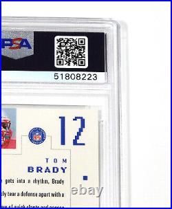 2000 SP Authentic Tom Brady #118 Rookie /1250 PSA 9