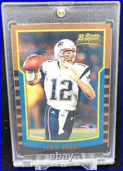 2000 Tom Brady Bowman Rookie Card #236