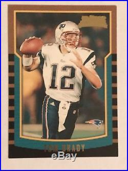 2000 Tom Brady Bowman Rookie Rc #236 New England Patriots Sp