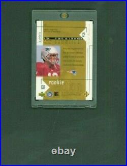 2000 Upper Deck Gold Reserve Tom Brady Rookie Card RC #2174 /2500 RARE NM GOAT