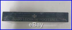 2000 Upper Deck Legends Football Factory Sealed Hobby Box