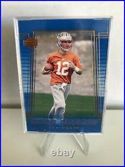 2000 Upper Deck Patriots Tom Brady Rookie Card #254