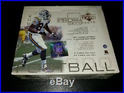 2000 Upper Deck Pros & Prospect NFL Hobby Box News Brady Rookie