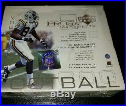 2000 Upper Deck Pros & Prospects Hobby Box Tom Brady Rookie GOAT