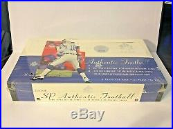 2000 Upper Deck SP Authentic Football Hobby Box, POSSIBLE TOM BRADY ROOKIE CARD
