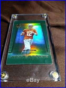 2000 Upper Deck Tom Brady New England Patriots #254 Football Card REFRACTOR