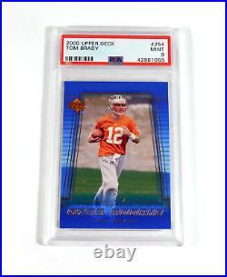 2000 Upper Deck Tom Brady Rookie #254 PSA 9