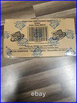 2000 press pass BBCE factory sealed box pack Tom Brady rc rookie psa 10 (1 BOX)