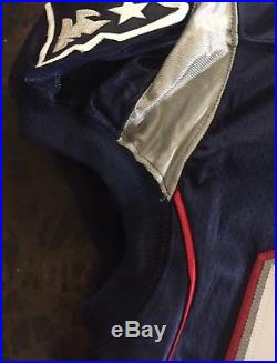 2001 New England Patriots Game Worn Used Issued Game Jersey #98 Pleasant Flowers