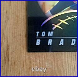 2002 Topps Chrome Tom Brady New England Patriots Black Refractor /599 Rare! Psa