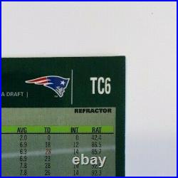 2007 Topps Chrome #TC6 TOM BRADY Black Refractor Mint