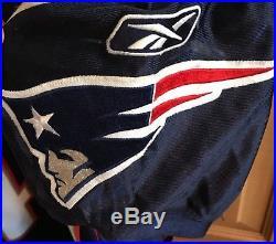 2008 Heath Evans Game Worn New England Patriots Navy Jersey NFL
