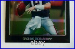 2008 Topps Chrome #TC3 TOM BRADY Black Refractor Mint or Gem